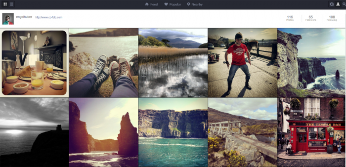 Pixsta Instagram Chrome App