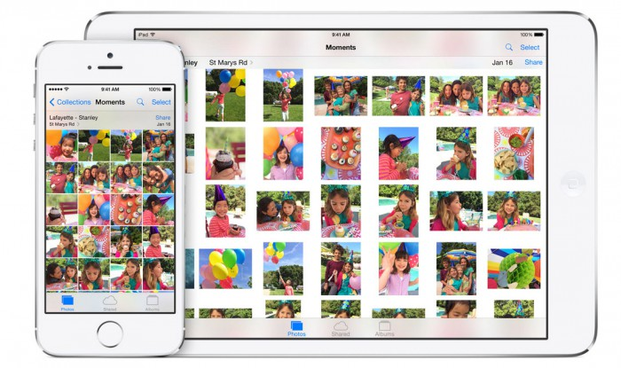 iOS 8 Foto App