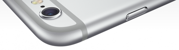 iPhone 6 iSight Kamera - steht aus dem Gerät heraus