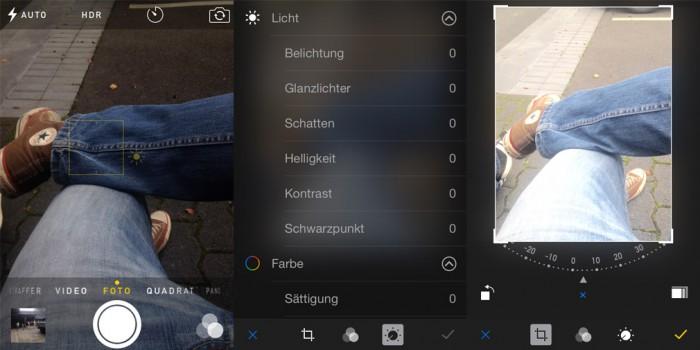 iOS 8 Kamera Neuerungen