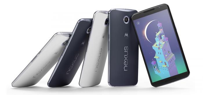 Google Nexus 6 Übersicht