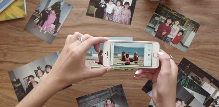 Heirloom App Fotos digitalisieren