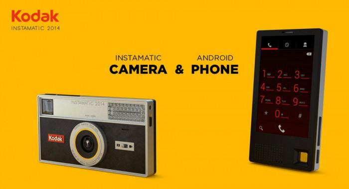 Konzept Instamatic 2014 - Bild: Kodak