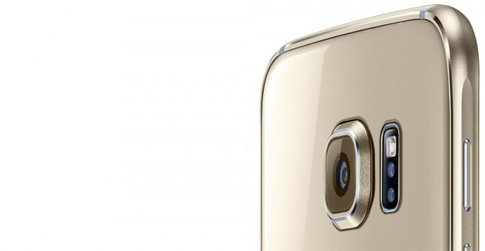 Die Kamera des Galaxy S6 ohne Dual-LED Blitz