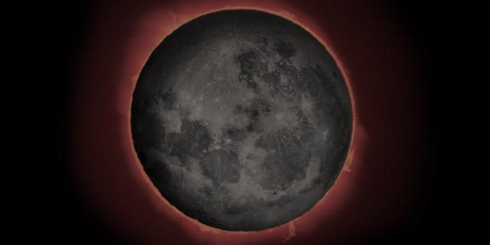 Sonnenfinsternis mit dem Smartphone fotografiert