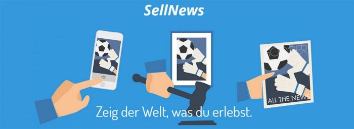 SellNews Geld mit Fotos verdienen