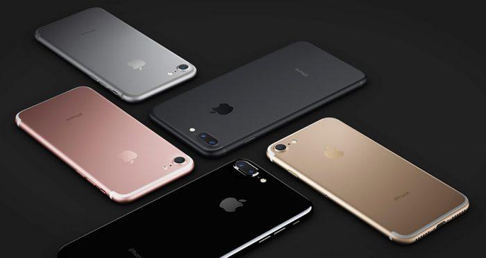 Neue Farben für das iPhone 7 (Plus) - Bild: Apple